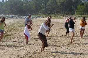 Qi Gong Besancon plage 3